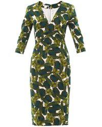 Antonio Berardi Forest-Print Fitted Dress - Lyst