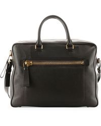 Tom Ford - Buckley Side-Zip Briefcase - Lyst