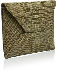 Metalskin - Multicolored Mini Envelope Clutch - Lyst