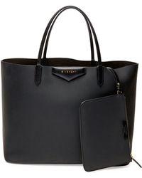 Givenchy Antigona Large Rubber-effect Shopper Bag - Lyst