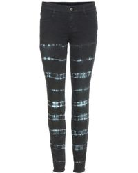Stella McCartney Printed Skinny Jeans - Lyst