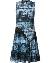 Proenza Schouler Asymmetric Shift Dress - Lyst