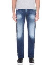 Diesel Belther Regular Mid-Rise Jeans - For Men - Lyst