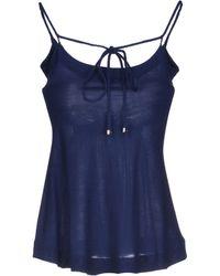 Celine Blue Top - Lyst