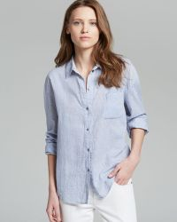 Elizabeth And James Shirt Carine Seersucker - Lyst