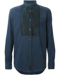 Diesel 'S-Kinsp-Dp' Shirt blue - Lyst