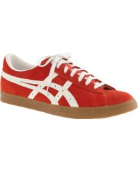 Onitsuka Tiger Fabre Low® Sneakers red - Lyst