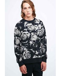 Worland - Rose Sweatshirt In Black - Lyst