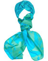 Missoni Silk And Crochet-Knit Turban Scarf - Lyst