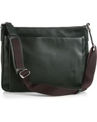 Bally Grained Calfskin Leather Messenger Bag - Lyst