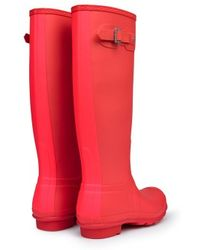 Hunter Original Stripe Wellington Boots - Lyst