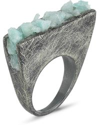 Burcu Okut Waterfall Ring - Lyst