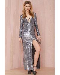 Nasty Gal Hustle Sequin Dress - Lyst