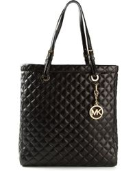 Michael by Michael Kors Jet Set Travel Large Quilted Tote - Lyst
