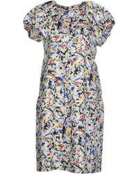 Jil Sander Knee-Length Dress multicolor - Lyst
