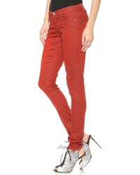 Cheap Monday Slim Rocking Red Jeans Red - Lyst