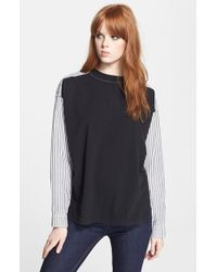 Marc By Marc Jacobs Shirttail Top - Lyst