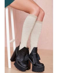 Nasty Gal Up The Ante Knee-high - Lyst
