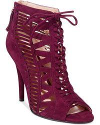 Nine West Purple Angellica Sandals - Lyst