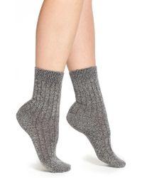 Pantherella | 'tabitha' Cashmere Blend Ankle Socks | Lyst