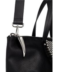 Giuseppe Zanotti - Nordiko Shark Tooth Leather Bag - Lyst