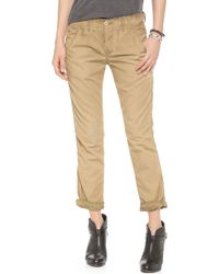 Bliss and Mischief - Edith Oil Wash Pants - Lyst