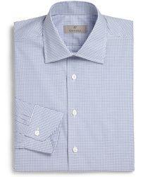 Canali Regular-Fit Cotton Dress Shirt - Lyst