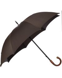 Barneys New York Diagonal Stripe Umbrella - Lyst