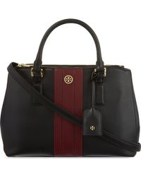 Tory Burch Robinson Mini Zip Tote - Lyst