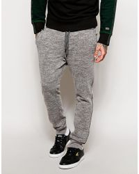 Diesel Sweat Pants Pascale Cuffed Tapered Fit - Lyst