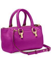 Diane von Furstenberg Sutra Leather Mini Duffle Bag - Lyst