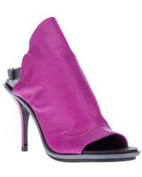 Balenciaga Purple Sandalo Guanto - Lyst