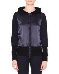 Callens - Zip-front Hooded Sweatshirt - Lyst