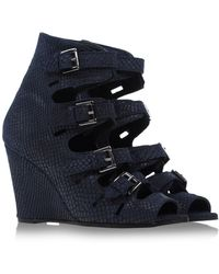 Surface To Air Ankle Boots blue - Lyst