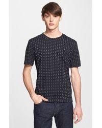Rag & Bone Men'S Tie Print T-Shirt - Lyst