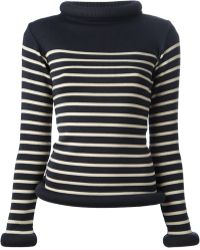 Jean Paul Gaultier Matelot Striped Sweater - Lyst