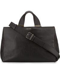 Pour La Victoire Inez Colorblock Leather Carryall Tote Bag - Lyst