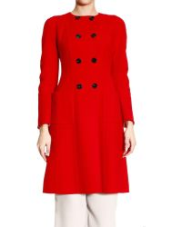 Dior Coat Woman - Lyst