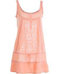 Melissa Odabash Embroidered Dress - Lyst
