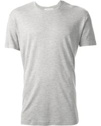 Mr Start Grey Jersey Tshirt - Lyst