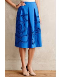 Sachin & Babi Bloomstitch Midi Skirt - Lyst