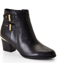 Isaac Mizrahi New York - Black Justice Ankle Booties - Lyst