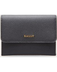 Bally - Hay Women ́s Leather Business Card Holder In Black - Lyst