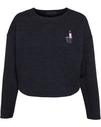 American Retro Quilted Joseph Sweater - Lyst