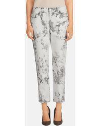 J Brand 'Aubrey' Relaxed Crop Jeans - Lyst
