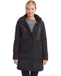 7 For All Mankind Quilted Parka - Lyst