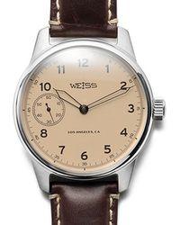 Kaufmann Mercantile Weiss Field Watch - Lyst
