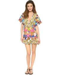 Camilla Embroidery Dress with Drawstring Holi - Lyst