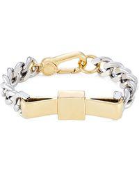 Marc By Marc Jacobs Large Bow Tie Bracelet - Lyst