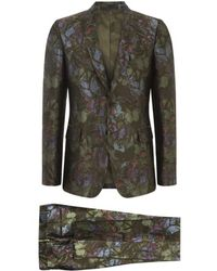 Valentino Brocade Butterfly Print Suit - Lyst